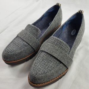 Dr. Scholl's Grey Imagine Loafers Size 6.5